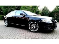 SUPERB AUDI A6 2.0 TDI LE MANS S LINE 2010 AUTOMATIC LEATHERS FULL HISTORY ALLOY