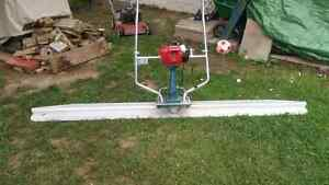 Concrete Power Screed + 8ft blade