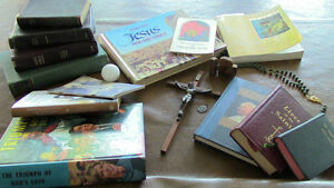 Religious Items, Books, Rosary, Cross, Medals Kitchener / Waterloo Kitchener Area image 1