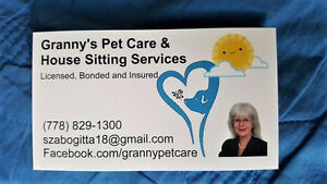 Granny's Pet Care and House Sitting Services