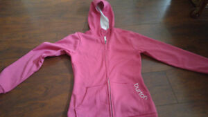 Women's size small burton dry ride breathable hoodie like new