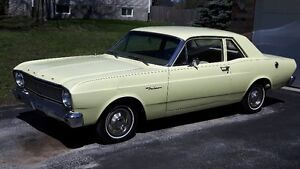 1966 FORD FALCON - ORIGINAL BODY & PAINT - CERTIFIED