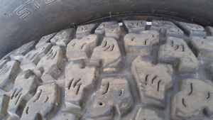 2 snow tires used 205/70/14