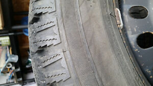 winter tires and rims 225/65r17 Peterborough Peterborough Area image 4
