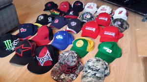 21 Ball Caps. Major Brands /logos. Jays. Buy 1 or $35 for ALL!