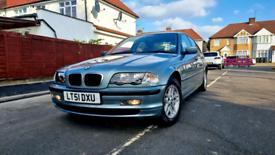 BMW E46 318I LOW MILEAGE 38K ULEZ FREE
