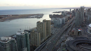 Downtown Toronto Lakeview 2 BDRM Furnish High Floor Luxury Condo