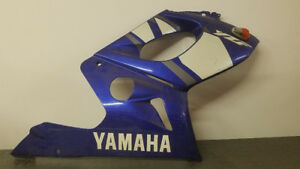 97-07 Yamaha YZF600R Body Work, Fairings, Headlight and Tank