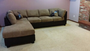 moving sale: left facing chaise
