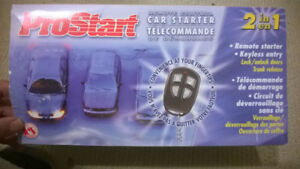 ProStart 4-button Remote Starter with Keyless Entry - NEW