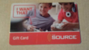 $1000.00 The Source Gift Card
