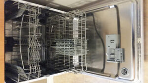 GE portable white dishwasher only a year and a half old EUC