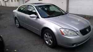 2003 Nissan altima  limited winter tires