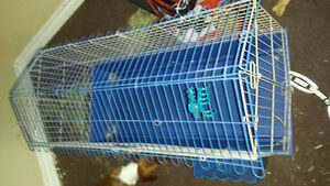 Large cage for small pets.