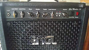 ENGL GigMaster 15W 1x10 Tube Combo Made in Germany