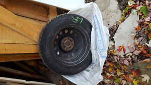 Great Condition 4 Winter Tireson Steel Rims!