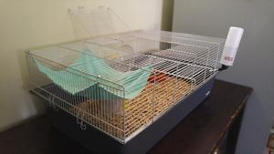 Grande cage pour Rat, Gerbille ou Hamster