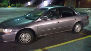 2000 Honda Accord ex l sedan as is