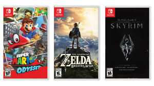 Games for Nintendo Switch