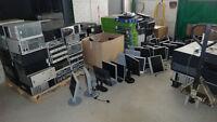 Lots de pièces des ordinateurs HP, ACER, COMPAQ et DELL