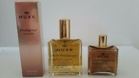 NUXE SET - dry oil + dry shimmer oil +perfume - BRAND NEW (RRP: 99 pounds)