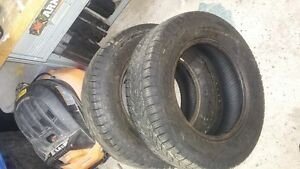 For Sale.  2 x 185/70R14 Snow Tires