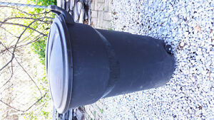 Garbage Can with Wheels - 121L