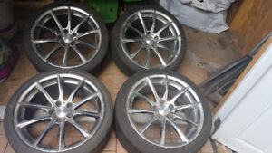 """19"""" Braelin Mags and Tires 255/35 R19"""