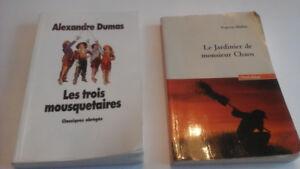 Les Trois Mosquetaires  and Le Jardinier  de monsieur  chaos