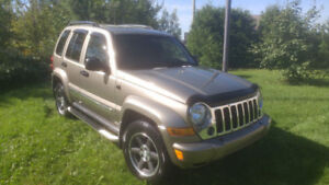 JEEP LIBERTY LIMITED CRD
