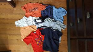 Shorts and shirts