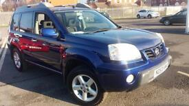 2003 53 NISSAN X-TRAIL 2.5 SPORT-X AND ADDED LPG.MEGA LOW MILEAGE.FULL MOT.2KEYS