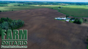 95 Acres with Driveshed, Grain Bins & Bank Barn. GREAT Yields!