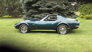 1972 Corvette Stingray/Excellent condition