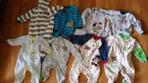 Boys sleepers 6-9 months