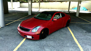 2003 Infiniti G35 Coupe, 6speed.  Rear-Wheel-Drive,  300hp