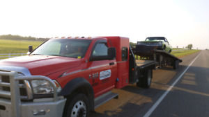 Hotshot style Car hauling & Equipment hauling services