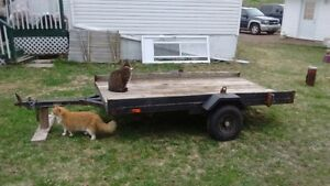 Homemade Dump Utility Trailer