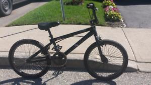 Black bmx bike HARO