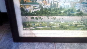 Holy City of Jerusalem, Framed Poster Kitchener / Waterloo Kitchener Area image 2