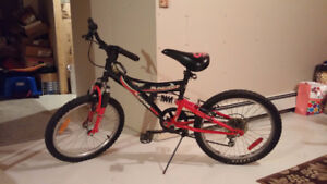 20'' youth bike (red and black)