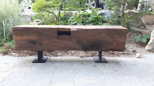 Coffee table/bench/barn beam