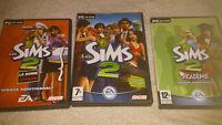 Jeux Les Sims 2 pour PC**Négo**Pratiquement neufs