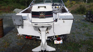 trade only for a smaller outboard