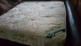 Double bed mattress in perfect condition
