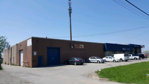 Industrial/commercial store front Space for Lease with Office