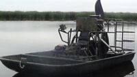 2010 Airboat with easy load trailer for Sale.