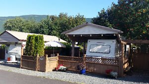 Trailer and Lot For Sale at Cultus Lake Holiday Park