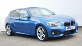 image for 2017 BMW 1 Series 116d M Sport 5dr Hatchback diesel Manual