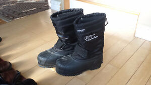 Warm winter (or skidoo) boots